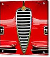 1949 Alfa Romeo 6c 2500 Ss Pininfarina Cabriolet Grille Acrylic Print