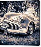 1949 Buick Eight Super Acrylic Print by motography aka Phil Clark