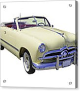 1949 Ford Custom Deluxe Convertible Acrylic Print
