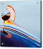 1949 Ford Hood Ornament 2 Acrylic Print