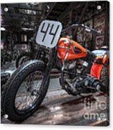 1949 Harley Davidson Acrylic Print
