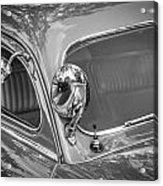 1949 Mercury Club Coupe Bw   Acrylic Print