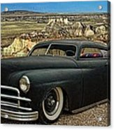 1949 Plymouth Low Rider Acrylic Print