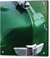 1949 Studebaker Champion Hood Ornament Acrylic Print
