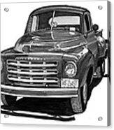 1949 Studebaker Pick Up Truck Acrylic Print