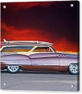 1950 Buick Woody Wagon X Acrylic Print