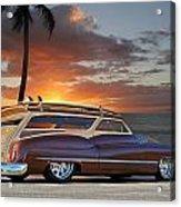 1950 Buick Woody Wagon Xi Acrylic Print