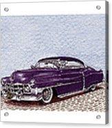 Chopped 1950 Cadillac Coupe De Ville Acrylic Print