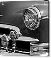 1950 Chevrolet Deluxe Head Lights Acrylic Print