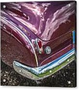 1950 Chevrolet Tailights And Bumper Acrylic Print