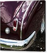 1950 Chevrolet Taillight And Bumper Acrylic Print
