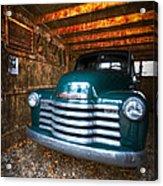 1950 Chevy Truck Acrylic Print