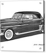 1950 Chrysler Newport Acrylic Print