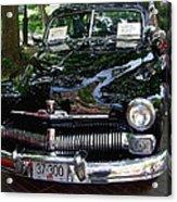 1950 Crysler Mercury Acrylic Print