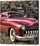 1950 Custom Mercury Subdued Color Acrylic Print