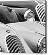 1950 Jaguar Xk120 Roadster Grille 2 Acrylic Print by Jill Reger