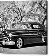 1950 Oldsmobile 88 -004bw Acrylic Print