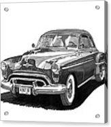 1950 Oldsmobile Rocket 88 Acrylic Print