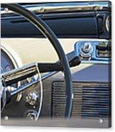 1950 Oldsmobile Rocket 88 Steering Wheel 3 Acrylic Print