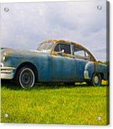 1950 Pontiac Chieftan Acrylic Print