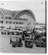 1950s 1960s Propeller Airplane Acrylic Print