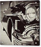 1950s Cadillac No. 1 Acrylic Print by Lisa Russo