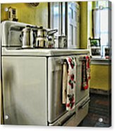 1950's Kitchen Stove Acrylic Print