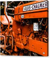 1950s-vintage Allis-chalmers D14 Tractor Acrylic Print