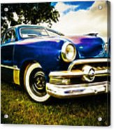 1951 Ford Custom Acrylic Print