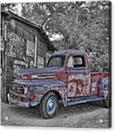 1951 Ford F-1 Acrylic Print by Robert Jensen