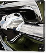 Old Car Grille Acrylic Print