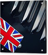1951 Jaguar Proteus C-type British Emblem Acrylic Print