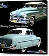 1951 Mercury Come And Going Acrylic Print by Jack Pumphrey