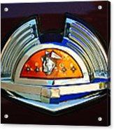 1951 Mercury Emblem Acrylic Print
