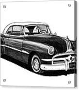 1951 Pontiac Hard Top Acrylic Print