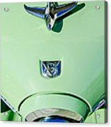 1951 Studebaker Commander Hood Ornament Acrylic Print