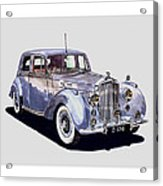 1952 Bentley M K Four Acrylic Print