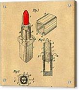 1952 Chanel Lipstick Case 4 Acrylic Print