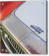 1952 Cunningham C-3 Vignale Cabriolet Grille - Hood Emblem Acrylic Print