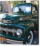 1952  Ford Pick Up Truck Front And Side View Acrylic Print