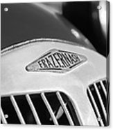 1952 Frazer-nash Le Mans Replica Mkii Competition Model Grille Emblem Acrylic Print