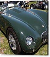 1952 Jaguar Xk120 Roadster 5d22967 Acrylic Print