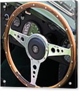 1952 Jaguar Xk120 Roadster 5d22971 Acrylic Print by Wingsdomain Art and Photography