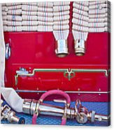 1952 L Model Mack Pumper Fire Truck Hoses Acrylic Print