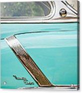 1952 Oldsmobile 98 Holiday Hardtop Side Emblem -1454c Acrylic Print