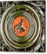 1952 Sterling Gladwin Maverick Sportster Wheel Emblem - 1720c Acrylic Print