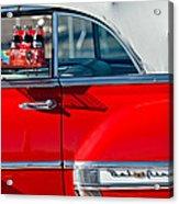 1953 Chevrolet Belair Convertible Acrylic Print