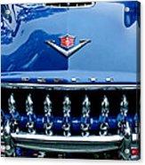 1953 Desoto Firedome Convertible Grille Emblem Acrylic Print