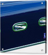 1953 Ferrari 340 Mm Lemans Spyder Side Emblem Acrylic Print