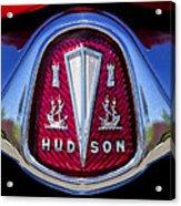 1953 Hudson Hornet Emblem 2 Acrylic Print